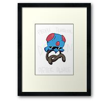 People Tentacool Down After Awhile Framed Print