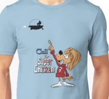 Super Chicken Fred pointing Unisex T-Shirt