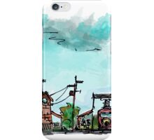 Urban Sketching Doodle 01 iPhone Case/Skin