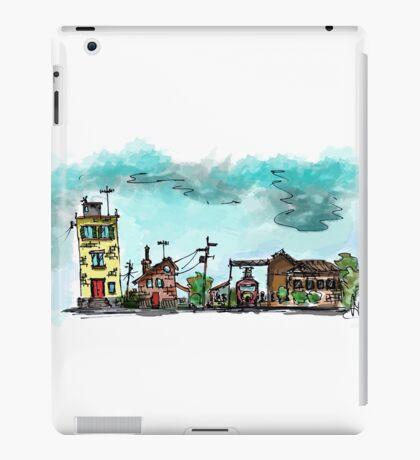 Urban Sketching Doodle 01 iPad Case/Skin