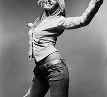 Liz Phair Black & White by Michael Roman