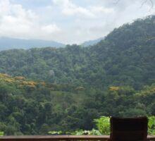 Paradise | Eco-home | Costa Rica | Pura Vida Sticker