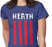 Tobin Heath painted design Womens Fitted T-Shirt