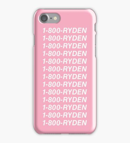 RYDEN iPhone Case/Skin