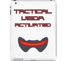 Tactical visor activated iPad Case/Skin