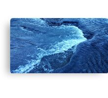 Ice Crystal Wave Canvas Print