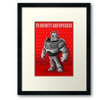 Cyber Story 2 Framed Print