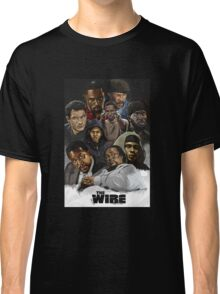 The wire characters Classic T-Shirt