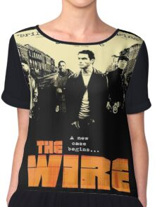 The wire TV series Chiffon Top
