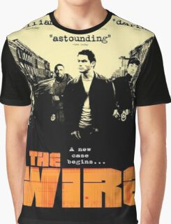 The wire TV series Graphic T-Shirt