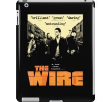The wire TV series iPad Case/Skin