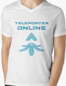 Teleporter online Mens V-Neck T-Shirt