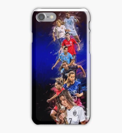 Tobin Heath From University of North Carolina to Portland Thorns + National Team iPhone Case/Skin