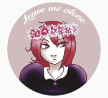 Leave me alone One Piece - Short Sleeve