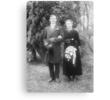 An Old Marriage Canvas Print