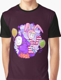 Popee & Kedamono Graphic T-Shirt
