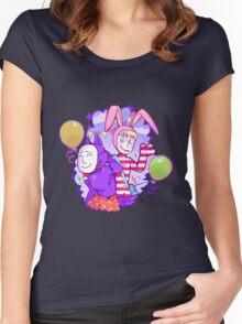 Popee & Kedamono Women's Fitted Scoop T-Shirt