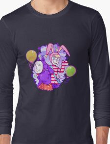 Popee & Kedamono Long Sleeve T-Shirt