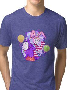 Popee & Kedamono Tri-blend T-Shirt