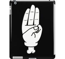 hunger games salute iPad Case/Skin