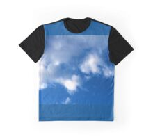 Evening Cumulus Clouds in June Graphic T-Shirt
