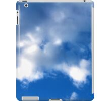 Evening Cumulus Clouds in June iPad Case/Skin