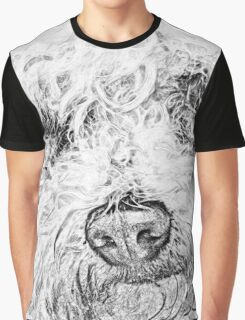 Shaggy Becky the Bichon Graphic T-Shirt