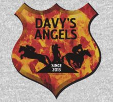 Davy's Angels Badge Kids Tee