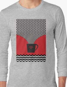 a damn fine cup of coffee Long Sleeve T-Shirt