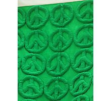 Green peace Photographic Print