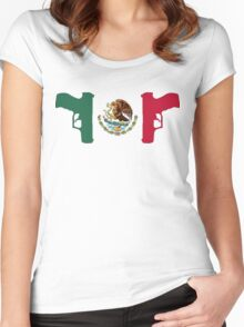 Mexican Reolution Women's Fitted Scoop T-Shirt