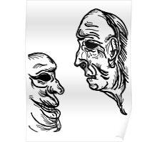 old saggy men Poster