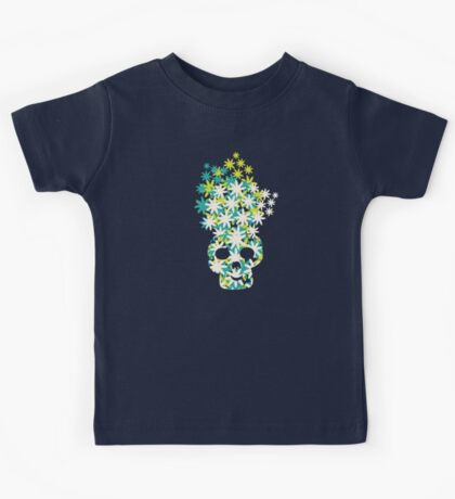 Skulls in the garden Kids Tee