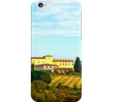 Tuscany hill iPhone Case/Skin