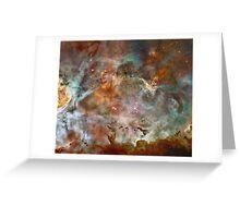 Dark Clouds of the Carina Nebula Greeting Card