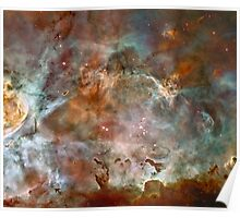 Dark Clouds of the Carina Nebula Poster