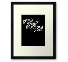 Nice Not Rice - VW Framed Print