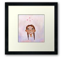 pastel thoughts Framed Print