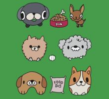 Cute Pets One Piece - Short Sleeve