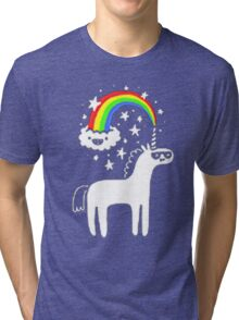 Cool Unicorn Tri-blend T-Shirt