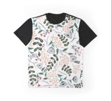 Folk Botanical Graphic T-Shirt
