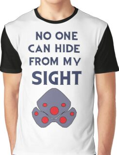 No one can hide from my sight Graphic T-Shirt