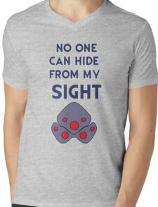 No one can hide from my sight Mens V-Neck T-Shirt