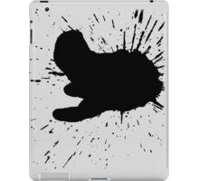 Black Ink iPad Case/Skin