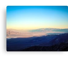Colors of Death Valley Canvas Print