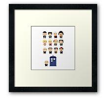 Tiny Doctors Framed Print