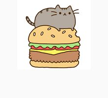 Pusheen and Burger Unisex T-Shirt