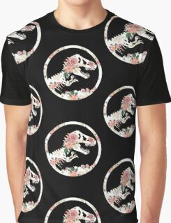 Jurassic Floral Graphic T-Shirt