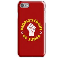 People's Front Of Judea T-Shirt iPhone Case/Skin