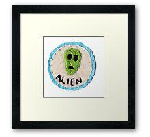 Alien Patch Framed Print